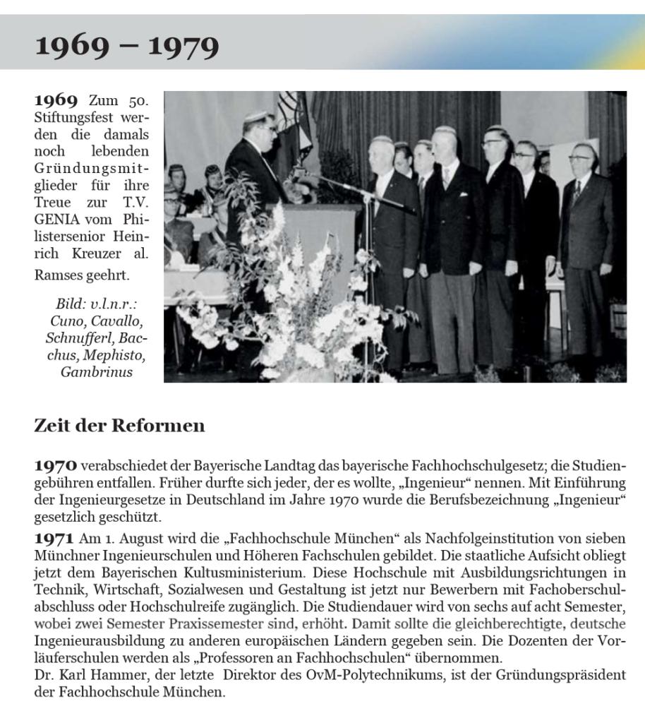 Ablichtung: Geschichte der T.V. Genia 1919 - 2019